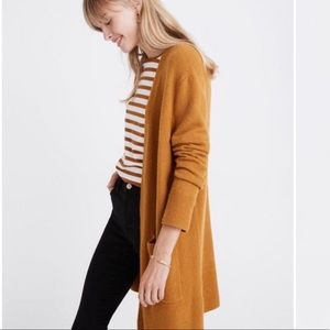 Madewell // Kent Cardigan in Harvest Gold